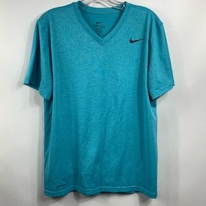 Nike Dri-Fit V-Neck T-Shirt Medium